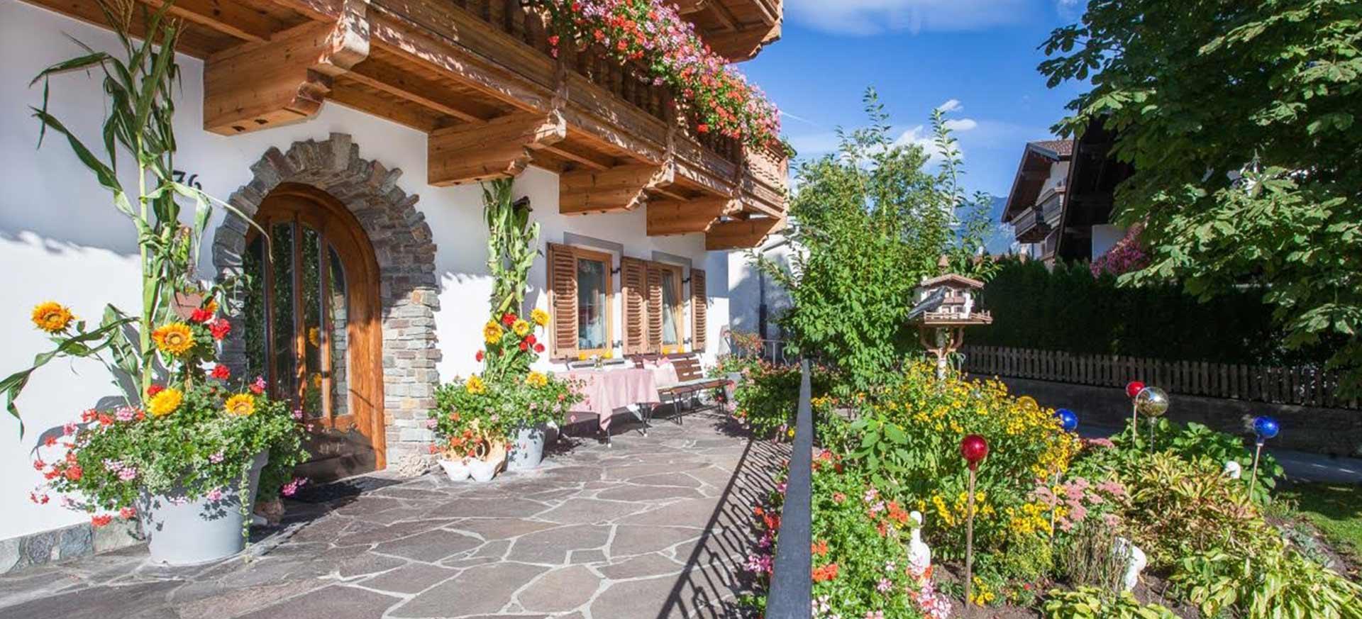 brixnerhof im Zillertal: Haus Sommer